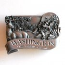 Washington The Great Escape Bergamot pewter belt buckle