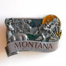 Montana The Great Escape Color Bergamot pewter belt buckle