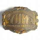 Yuma Territorial Prison Arizona Bergamot Brass Vintage belt buckle