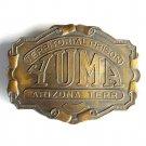 Yuma Territorial Prison Arizona Bergamot Brass Color Vintage Belt Buckle