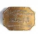 Southwestern Stage Co American Express Bergamot Brass Vintage belt buckle