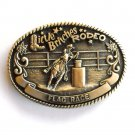 Little Britches Rodeo Flag Race Tony Lama First Edition belt buckle