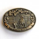 Little Britches Rodeo Breakaway Roping Tony Lama First Edition belt buckle