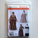 Womens Customes Dresses Plus Size GG 26W - 32W Simplicity Sewing Pattern 2354