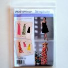 Womens Misses Dress 3 Lengths Size H5 6 - 14 Simplicity Sewing Pattern 2362