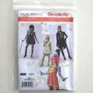 Elaine Heigl Misses Costumes Size HH 6 - 12 Simplicity Sewing Pattern 2525