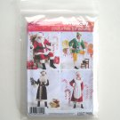 Santa Christmas Costumes Adults Size BB L - XL Simplicity Sewing Pattern 2542