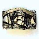 American Sailing LTD 935 Arroyo Grande Pewter Vintage belt buckle