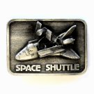 Space Shuttle 3D 1980 Pewter Vintage belt buckle