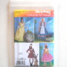 Costumes For Misses Size RR 14 - 20 Simplicity Sewing Pattern 2827