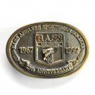 BASS 25 Years Anniversary Brass Belt Buckle