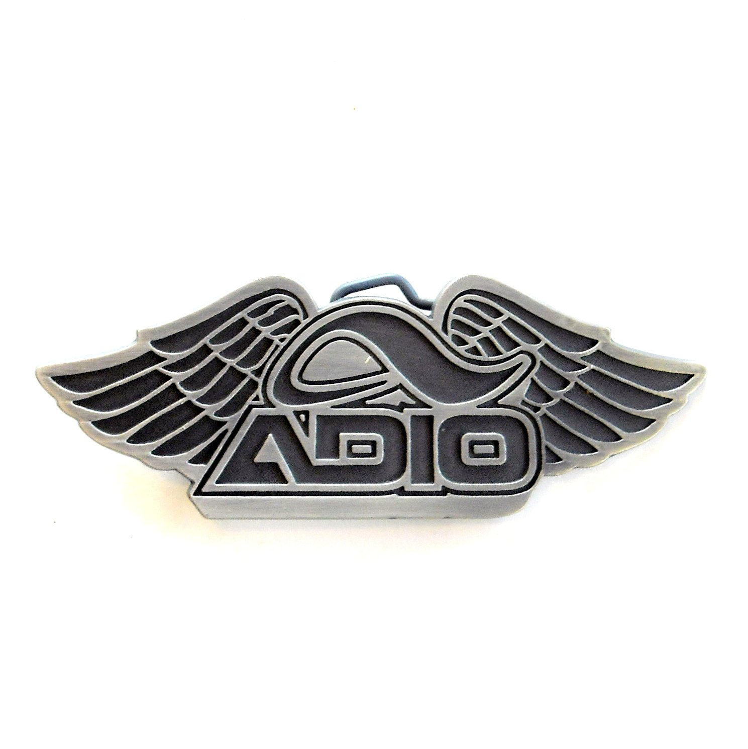 Adio Logo Shoes Wings Skateboarding Unisex Belt Buckle