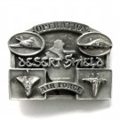 Operation Desert Shield Air Force Pewter belt buckle