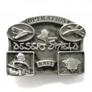 Operation Desert Shield Navy Pewter belt buckle