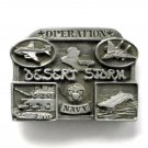 Navy Operation Desert Storm Pewter belt buckle