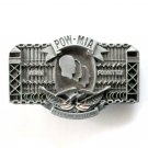 POW MIA American Veterans Never Forgotten Limited Edition # 1129 belt buckle