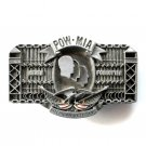POW MIA American Veterans Never Forgotten Limited Edition # 1123 belt buckle