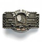 American Veterans POW MIA Never Forgotten Limited Edition # 1112 belt buckle