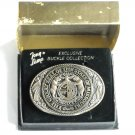 Tony Lama Vintage State Of Missouri solid brass belt buckle
