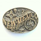 New Mexico Vintage First Edition Award Design brass belt buckle