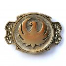 Vintage Thunderbird Phoenix Firebird Bird Solid Brass Award Design belt buckle