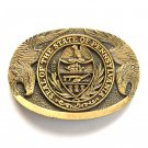 Great Seal Of The State Of Pennsylvania Award Design Solid Brass belt buckle