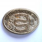 Pro Rodeo Cowboys PRCA Future World Champion Montana Silversmiths Solid Brass belt buckle