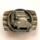 Kenworth Big Rig Truck 3D Bergamot American Made Belt Buckle