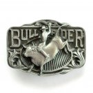 Bull Rider Western C & J Solid American Made Belt Buckle