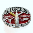 Mechanic Guaranteed Performance 3D Color GAP Pewter belt buckle