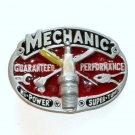 Mechanic Guaranteed Performance 3D Color GAP Pewter belt buckle