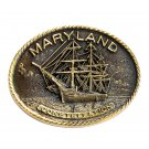 Maryland Constellation Vintage Edition 0449 Heritage Mint Solid Brass Belt Buckle