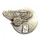 Atlanta Hawks NBA Original Solid Pewter belt buckle