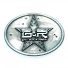 Guns N Roses G&R Star Pewter Belt Buckle
