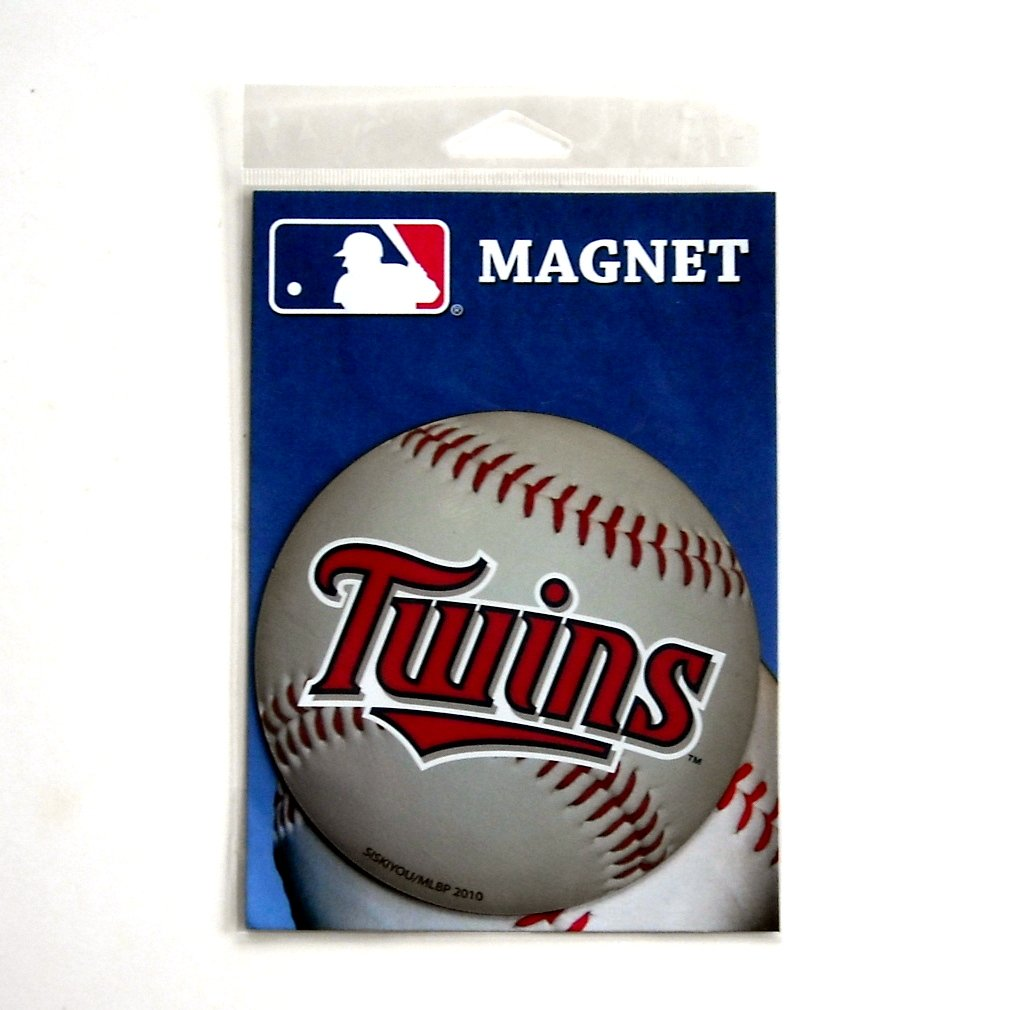 Twins Minnesota Baseball Club Officially licensed MLB Siskiyou Large Magnet