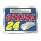 Nascar Winston Cup Series Gordon 24 American Legends Foundry Pewter belt buckle