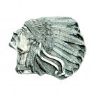 Big Chief Original 3D Bergamot USA Pewter American belt buckle