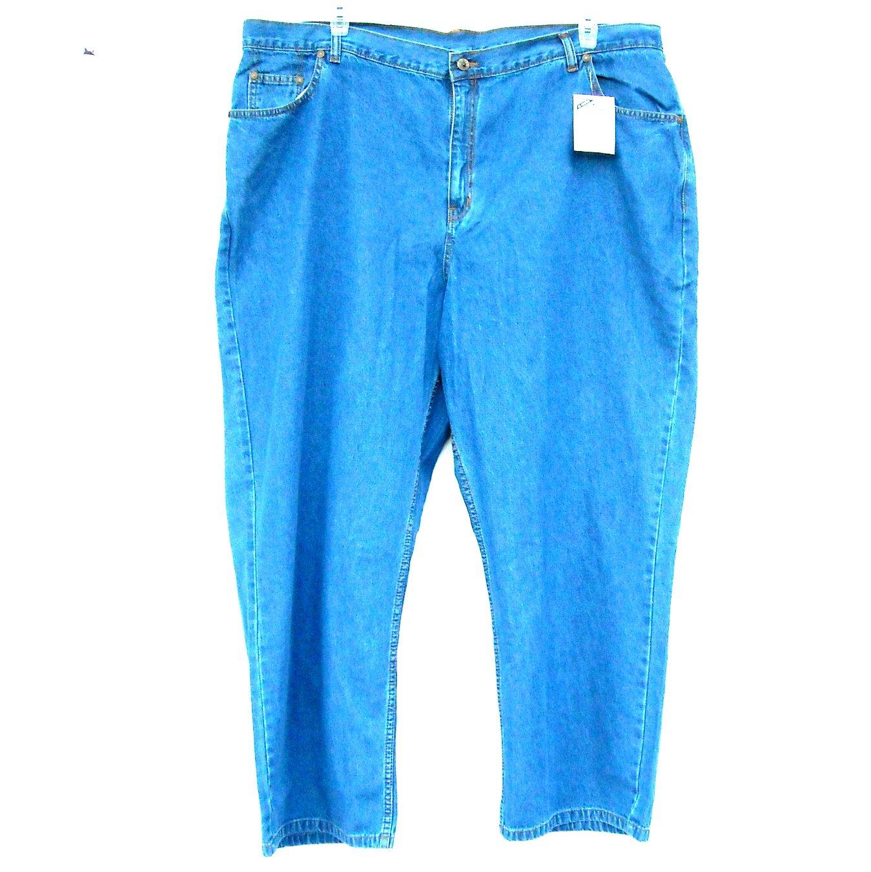 Mainstreet Blues Womens Blue Jeans Plus Size J2 NWT