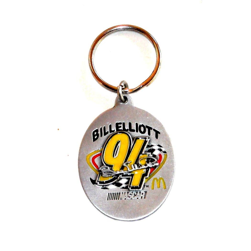 Bill Elliott Nascar 94 McDonald's Fob Key Ring Keychain
