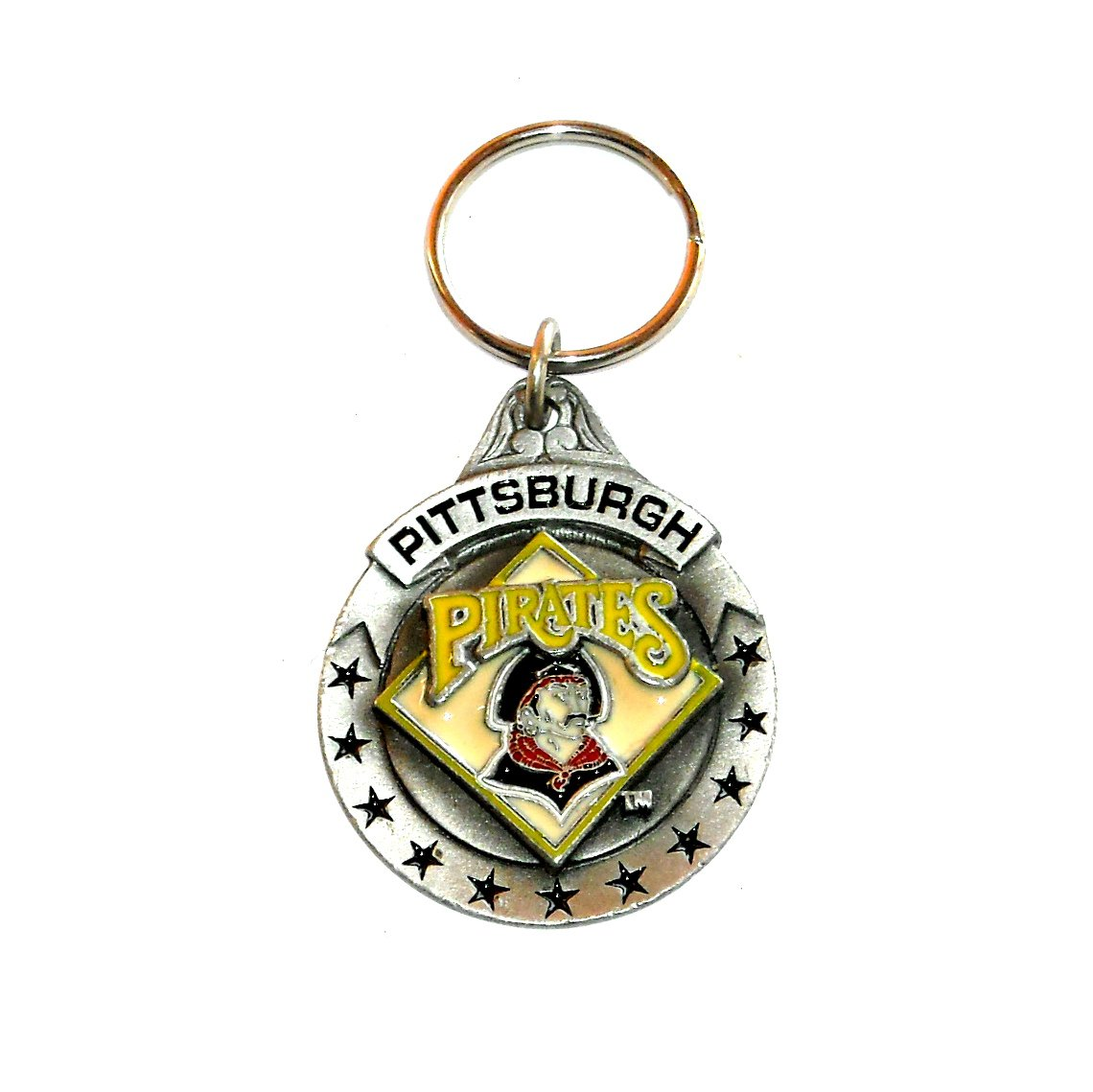 Pittsburgh Pirates National League Baseball Fob Key Ring Keychain