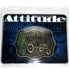 John Deere Model B Western Attitude Belt Buckle