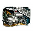 Search Rescue Color 1988 Siskiyou Pewter Belt Buckle