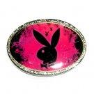 Playboy Bunny Black Standard Belt Buckle
