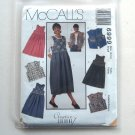 Misses Jumper & Vest Vintage McCall's Sewing Pattern 6999