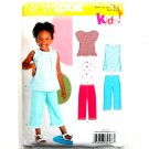 Kids Toddlers Tops Pants Size 3 - 8 Simplicity New Look Sewing Pattern 6883