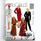 Misses Dresses Jumpsuit 12 14 16 McCalls Sewing Pattern 5161