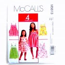 Girls Dresses 4 Great Looks McCalls Sewing Pattern M5613
