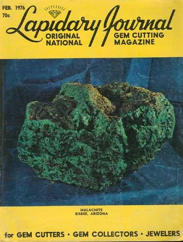 Lapidary Journal Magazine February 1976