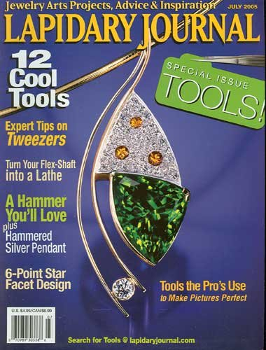 Lapidary Journal Magazine July 2005