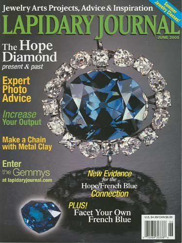 Lapidary Journal Magazine June 2005